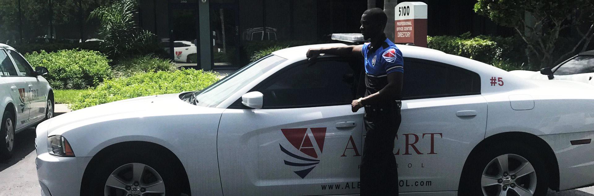 security guard car