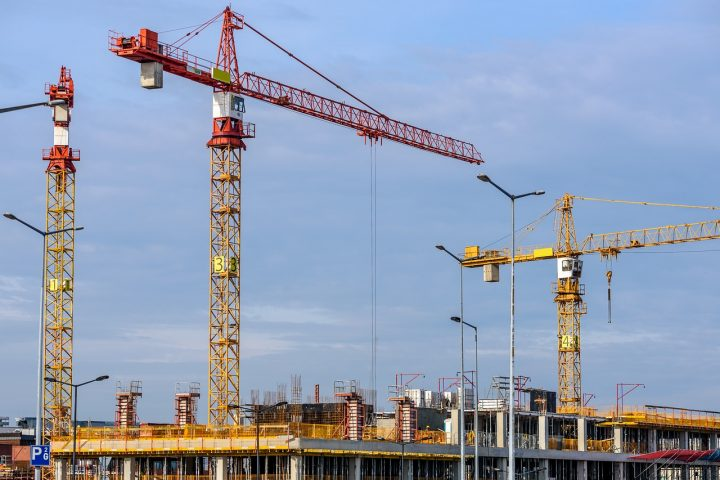 What are the main construction site security duties?